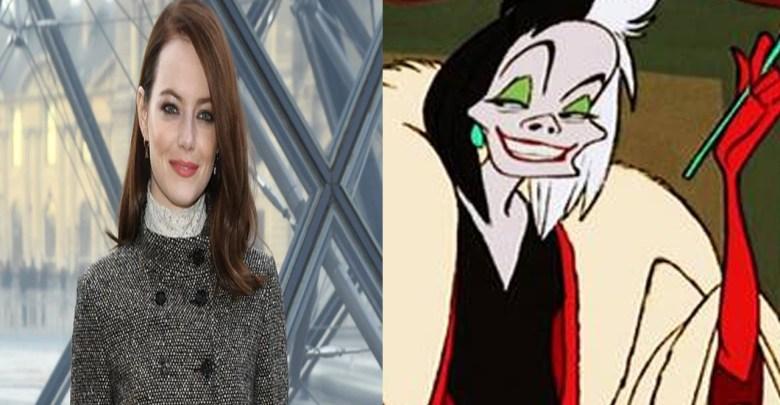 Así luce Emma Stone como Cruella de Vill