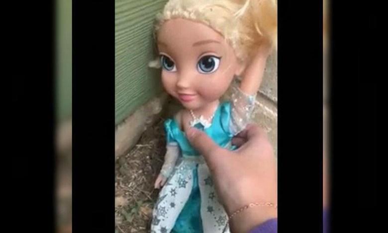 """Video: Muñeca """"embrujada"""" aterroriza a familia"""