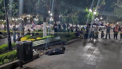 Photo of Hallan muerta a una mujer en la plaza principal de Los Reyes