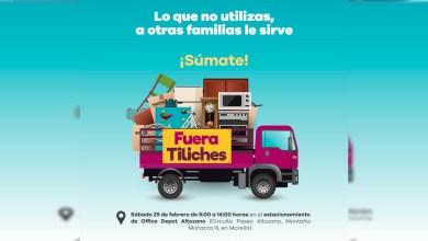 """Photo of Este sábado, """"Fuera Tiliches"""" recibirá donaciones en Altozano"""