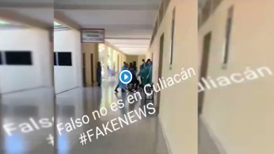 Photo of Video sobre caso de coronavirus en Culiacán es falso