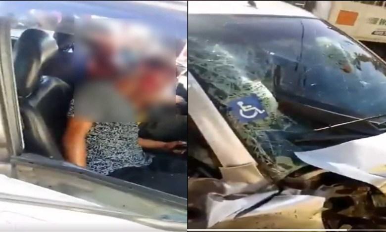 VIDEO (+18): Ladrones chocan tras robar auto a discapacitado; no sabían que el freno estaba en el volante