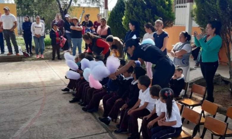 Mantiene SSP acciones preventivas en centros escolares de Morelia