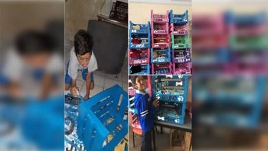 Photo of Niño mexicano emprende su propia empresa; fabrica y vende camitas para mascota