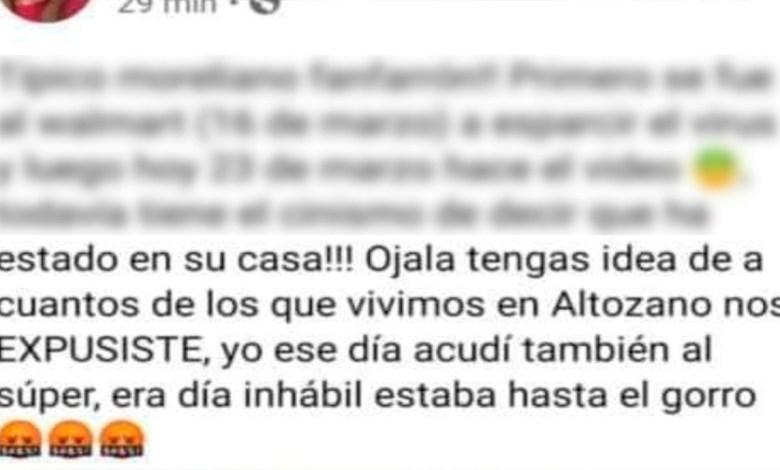 Morelia: Temor e indignación entre vecinos de Altozano por casos de Coronavirus en la zona