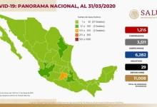 Photo of 1.215 casos confirmados de Covid-19 y 29 muertos en México
