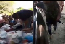 Photo of Video: Captan a sicarios repartiendo despensas por coronavirus en Michoacán