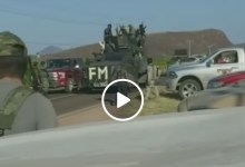 Photo of Video: Captan sicarios fuertemente armados en carreteras michoacanas