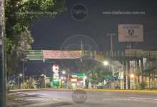 Photo of Morelia amanece con narcomantas en la zona sur