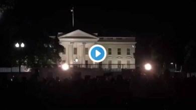 Photo of Casa Blanca apaga sus luces por primera vez desde 1889; Trump es trasladado a búnker
