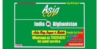Betting Tips Ind vs Afg Super 4 Match