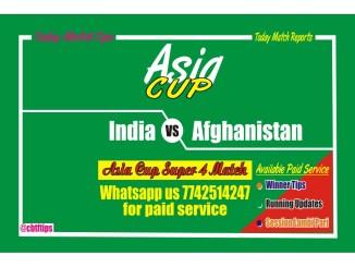Betting Tips Ind vs Afg Super 4 Match