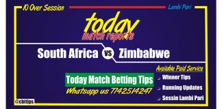 Cricket Betting Tips Free Zimbabwe vs South Africa 2nd ODI Match
