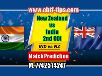 2nd Odi Match Reports IND vs NZL Toss Lambi Pari Session Tips