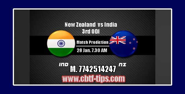 3rd ODI Match Reports NZL vs IND Toss Lambi Pari Session Tips