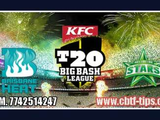 BBL T20 53rd Heat vs Star 100% Sure Win Tips Non Cutting