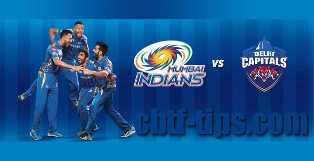 CBTF Match Prediction DC vs MI 3rd Match IPL 2019 100% Sure Win