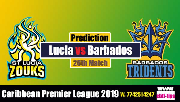 CPL 2019 Cricket Betting Tips BT vs SLZ 26th Match Who will win today's Sure Reports Toss Session Lambi Pari