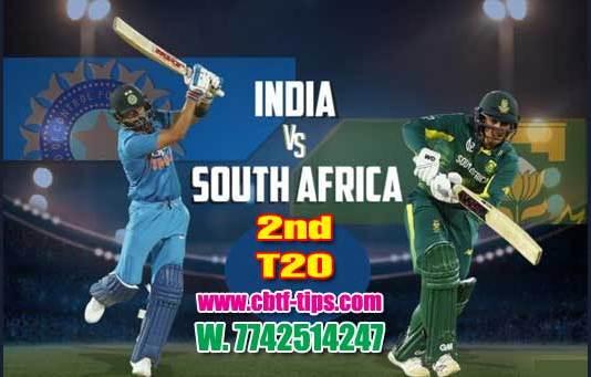 2nd T20 Africa vs Ind Cricket Prediction Match Cricket Betting Tips accurate Correct Reports Toss Session Lambi Pari CBTF Baazigar Bhai Ji King Khai Lagai