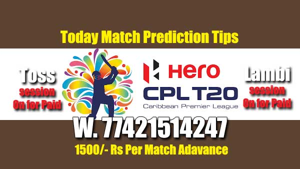 CBTF Betting Tips CPL 2019 Match Reports Session Pari