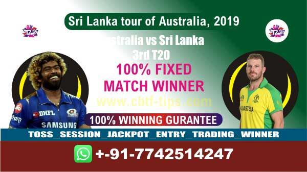 Aus vs SL Cricket Betting Tips 3rd T20 Match Prediction