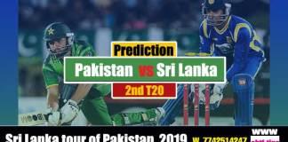 SL vs Pak Astrology Cricket Betting Tips 2nd T20 Match Prediction