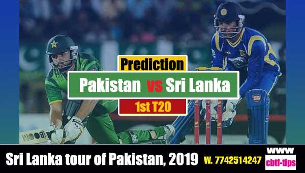 1st T20 Cricket Betting Tips SL vs Pak CBTF Who will win today's Sure Reports Toss Session Lambi Pari