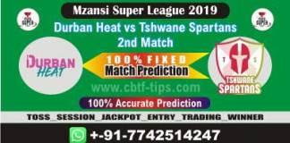DUR vs TST 2nd Mzansi Super League Match Reports Cricket Betting Tips
