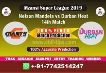 NMG vs DUR 14th Mzansi Super League Match Reports Cricket Betting Tips