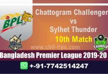 CCH vs SYL 10th BPL T20 100% Fixed Match Reports Betting Tips CBTF