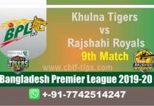 KNT vs RAR 9th BPL T20 100% Fixed Match Reports Betting Tips CBTF