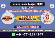 NMG vs TST 23rd Mzansi League Match Reports Betting Tips - CBTF