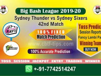 Betting Tips Big Bash SYT vs SYS 42nd