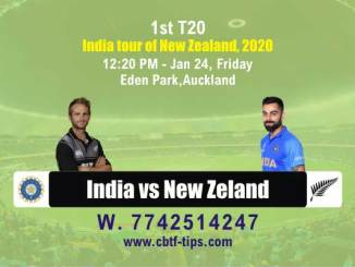 Ind vs Nz cbtf match prediction