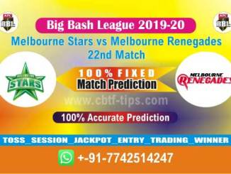 MLS vs MLR Big Bash League 2020 22nd Match Real Fixed Betting Tips