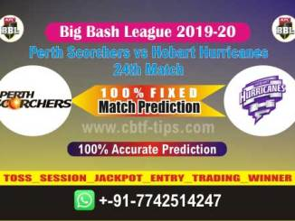 PRS vs HOB Big Bash League 2020 24th Match Real Fixed Betting Tips