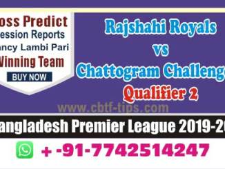 cbtf CCH vs RAR match prediction