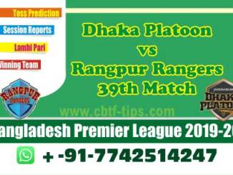 cbtf DHP vs RAN match prediction