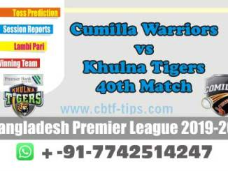 cbtf KHT vs CUW match prediction