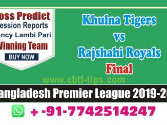 cbtf KHT vs RAR match prediction