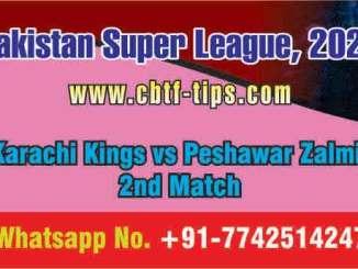 KAR vs PES 2nd PSL T20 Sure Prediction Betting Tips CBTF Toss Fancy
