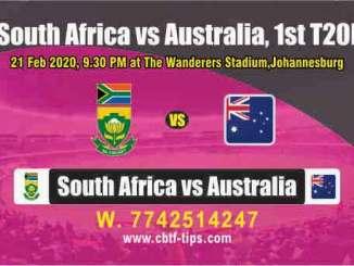 RSA vs AUS 1st International T20 Sure Prediction Betting Tips CBTF Toss