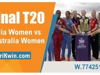 AUW vs INW Final Womens WC T20 Sure Winner Prediction