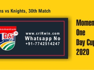 KTS vs TIT 30th Momentum ODI Winner Prediction cricketbettingtipsfree