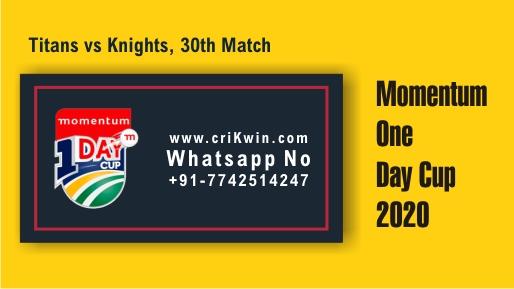 KTS vs TIT 30th Momentum ODI Winner Prediction cricketbettingtipsfree