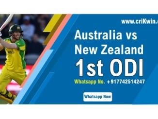 NZ vs AUS 1st ODI Sure Winner Prediction cricketbettingtipsfree CBTF