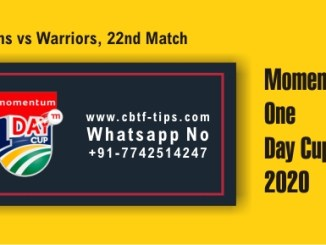 WAR vs TIT 22nd ODI Sure Winner Prediction cricketbettingtipsfree CBTF
