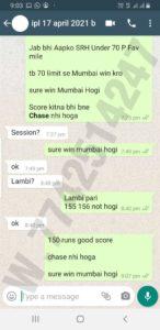 IPL Match No. 9 Match Prediction Reports Screenshot