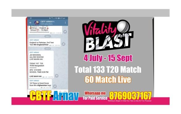 vitality Blast T20