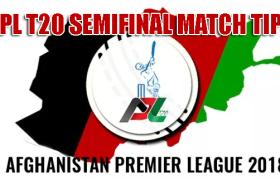 APL 2018 Nangarhar vs Balkh Semi Final